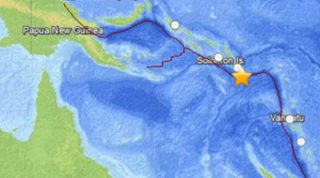 Solomon Islands Hit By 7.6 Magnitude Earthquake; Tsunami Warning Cancelled