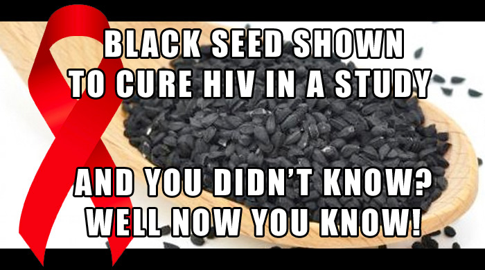 Study Shows Black Seed Cured HIV Patient