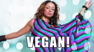 Mya Embraces Veganism And A Vegan Diet And Does It Beautifully
