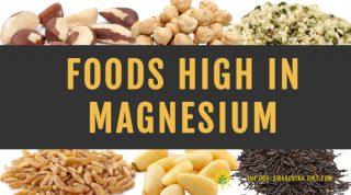 High Magnesium Foods