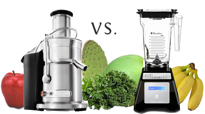 Juicing Vs. Blending Fruits And Vegetables
