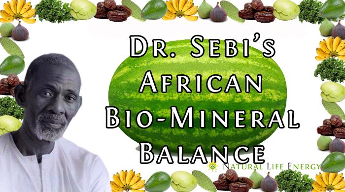 Dr. Sebi's African Bio Mineral Balance