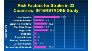 Interstroke Study Identifies Risk Factors For Stroke - Stroke Is Preventable